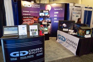 General Digital's booth at the 2012 AUSA ILW Winter Symposium
