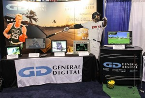 General Digital's booth at the 2012 SID trade show