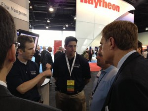 Discussion on the ATCA 2012 exhibit floor