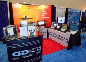 General Digital's booth at the ATCA 2012 Exposition