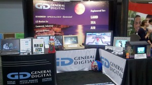General Digital's booth at AUSA 2012