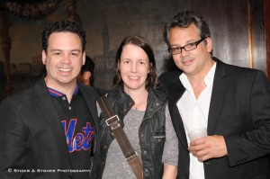 Giovanny, Sarah and Raf at The Last Intervention premiere