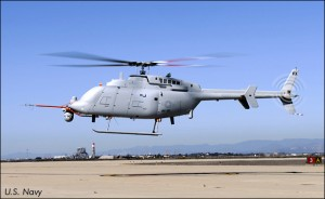 The first flight of Northrop Grumman's MQ-8C Fire Scout