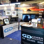 General Digital's booth at Navy League's 2015 Sea-Air-Space Expo