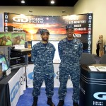 Dressing the part at the Navy League 2015 Sea-Air-Space Expo