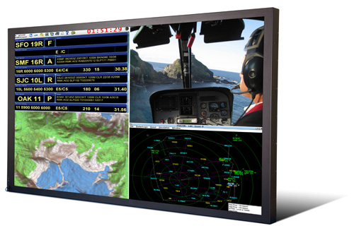 Titan 65-inch rugged LCD monitor