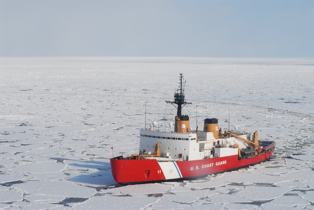 Coast Guard heavy icebreaker ship Polar Sea (WAGB 11)