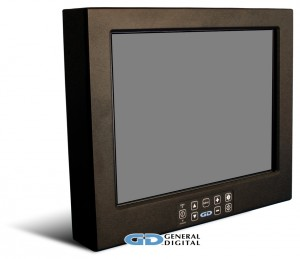 Figure 1 - LCD monitor with a 50 percent gray screen