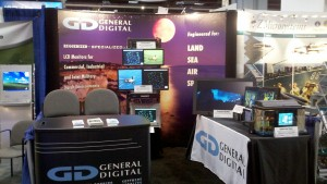 General Digital's Booth at the 2011 AUSA Annual Meeting & Exposition