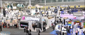 A view of the 2012 SID trade show floor