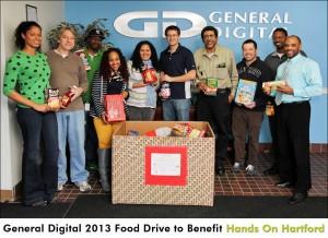 General Digital 2013 Food Drive to Benefit Hands On Hartford