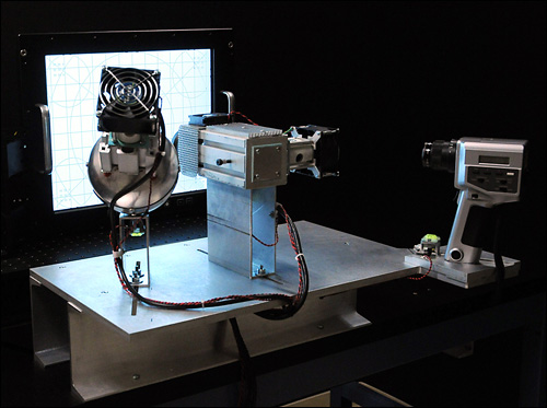 Photometric testing setup