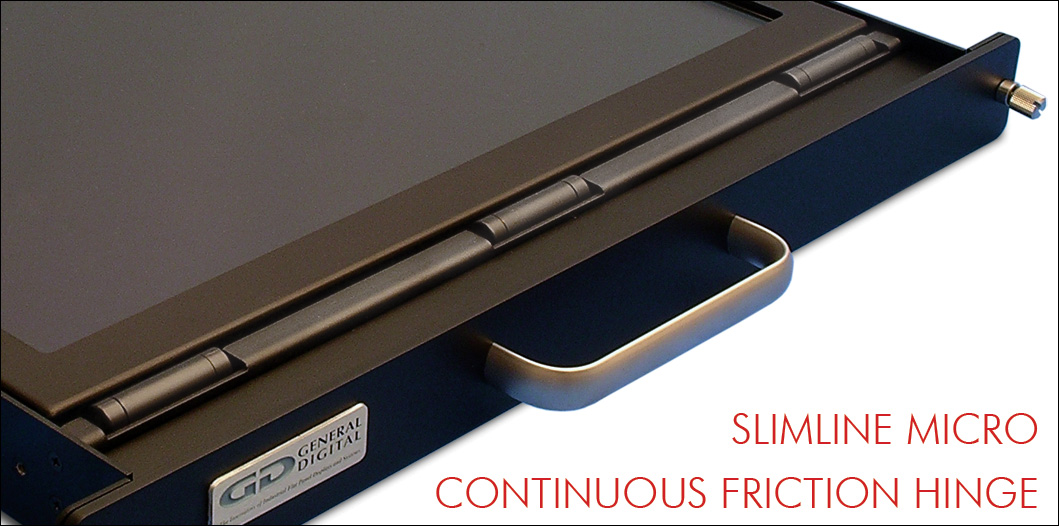 SlimLine Micro continuous friction hinge