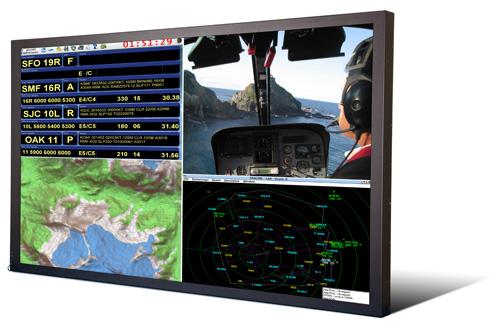 Titan 65-inch rugged LCD monitor