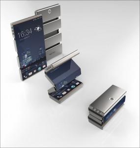 Flexible smartphone concept
