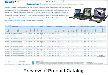 SlimLine Lite II Product Catalog