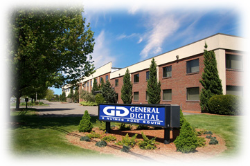 General Digital headquarters in South Windsor, Connecticut, U.S.A.