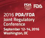 2016 PDA/FDA Joint Regulatory Conference