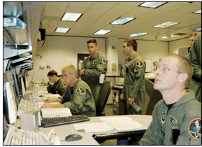 Photo of Air Force Control Room