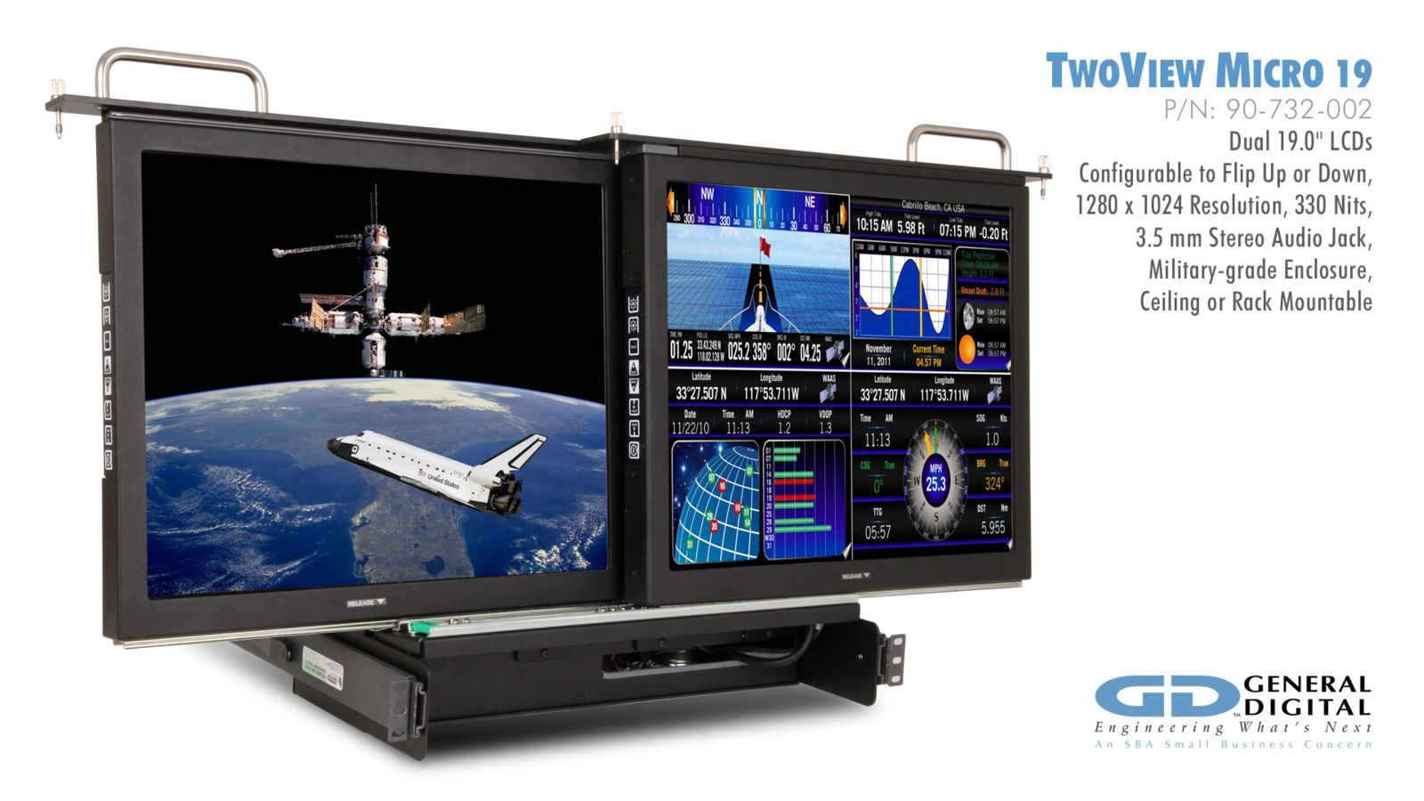 Rugged Displays & Monitors for Military, Industrial, Air