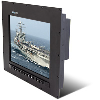 Barracuda PanelMount Solar NVIS Military Waterproof LCD Display