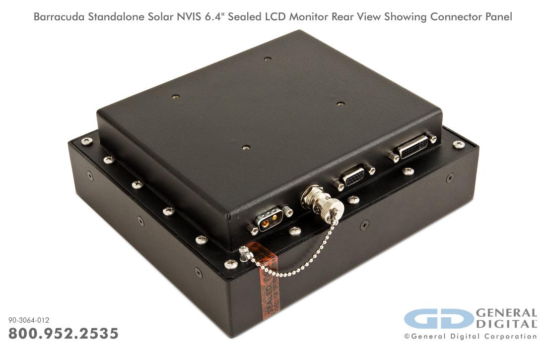 Barracuda Marine Grade Waterproof Sealed Lcd Monitors