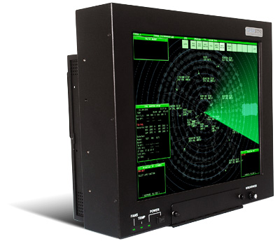 GenStar III mountable LED backlit 21.3 inch LCD monitor built for air traffic control towers
