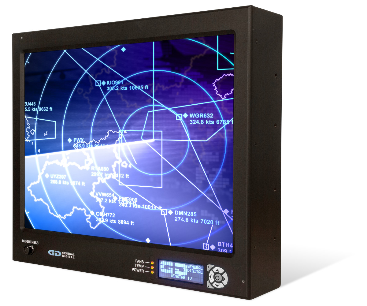 Photo of GenStar IV LCD monitor