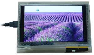 Photo of Impact 7-inch open frame monitor