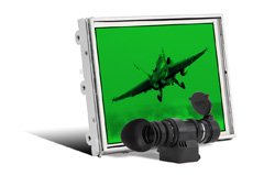Impact Solar LCD Monitor Kit with a Sunlight Readable Night Vision-Compatible Display