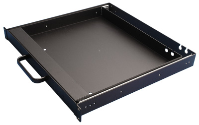 Rack Mount Drawer, Aluminum, 1.75 inch High