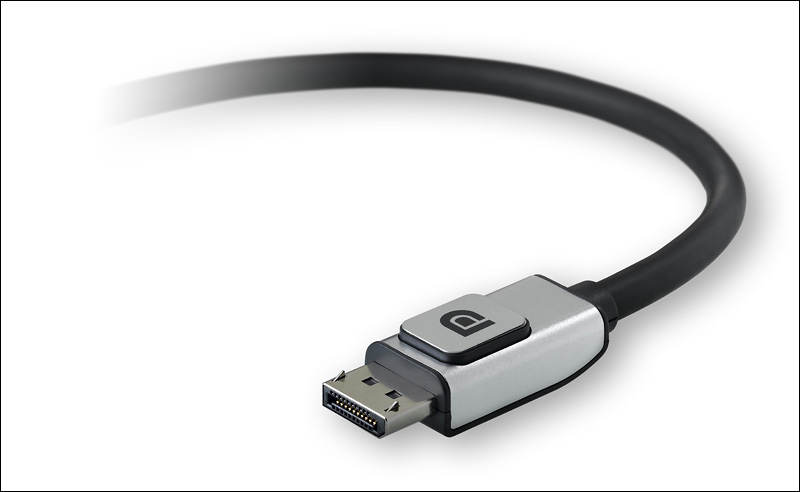 DisplayPort video connector