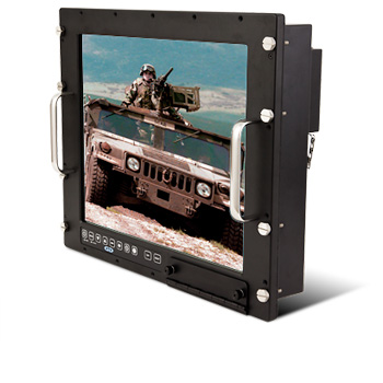 Photo of Saber rack mount LCD monitor