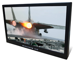 Saber Standalone Solar Rugged Sunlight Readable Mountable LCD Monitor with a Night Vision-Compatible Display