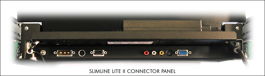 SlimLine Lite II connector panel