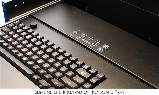 Photo of SlimLine Lite II keyboard and membrane keypad