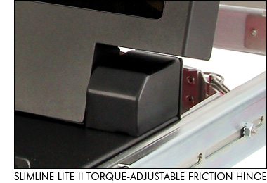 SlimLine Lite II Torque-Adjustable Friction Hinge