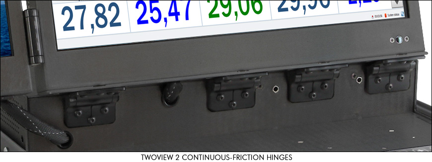 Photo of friction hinges