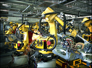 Robotic assembly lines can benefit from software testing and development