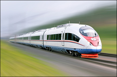 High-speed trains require software testing and development